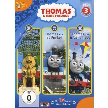 03/3er DVD Thomas-Folgen 24/25/26