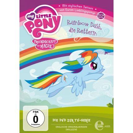 (12)DVD z.TV-Serie-Rainbow Dash/Die Retterin