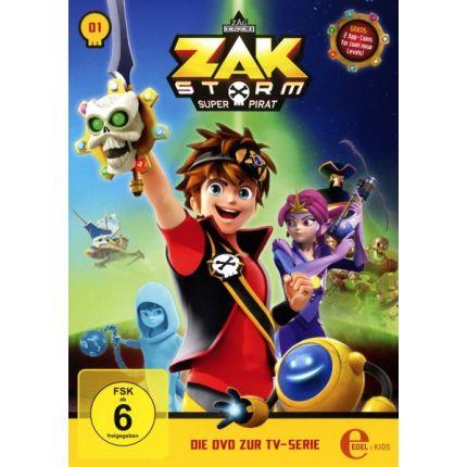 Captain Zak (1) DVD TV-Serie-Captain Zak