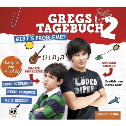 Gregs Film-Tagebuch 2 - Gibt's Probleme?