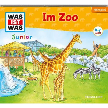 WAS IST WAS Junior Hörspiel-CD: Im Zoo