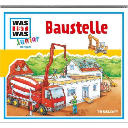 WAS IST WAS Junior Hörspiel-CD: Baustelle