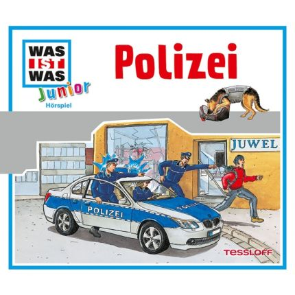 WAS IST WAS Junior Hörspiel-CD: Polizei