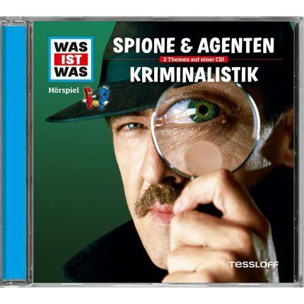 WAS IST WAS Hörspiel-CD: Spione & Agenten/ Kriminalistik