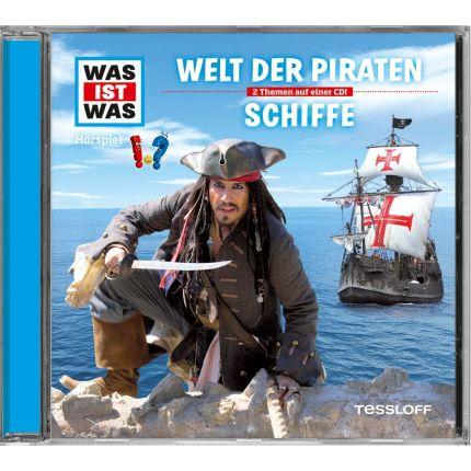 WAS IST WAS Hörspiel-CD: Welt der Piraten/ Schiffe