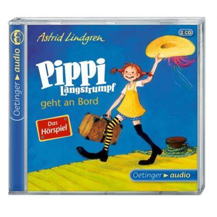 Pippi Langstrumpf geht an Bord – Das Hörspiel (2 CD)