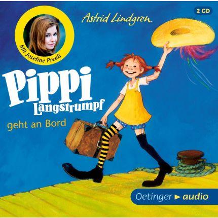 Pippi Langstrumpf geht an Bord (2CD)