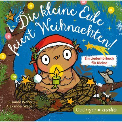 Die kleine Eule feiert Weihnachten (CD)