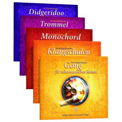 Der KlangSchamane: Trommeln, Klangschalen, Monochord, Gong und Didgeridoo für schamanische Reisen