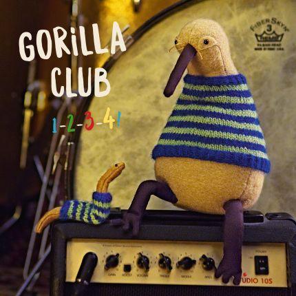 Gorilla Club 1-2-3-4! (CD)