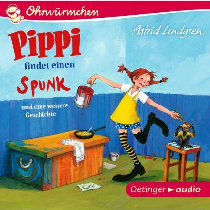 Pippi findet einen Spunk und eine weitere Geschichte (CD)