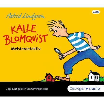 Kalle Blomquist Meisterdetektiv (4 CD)