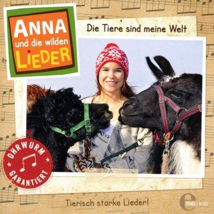 Anna und die wilden Lieder (1) Das Liederalbum - Die Tiere sind meine Welt