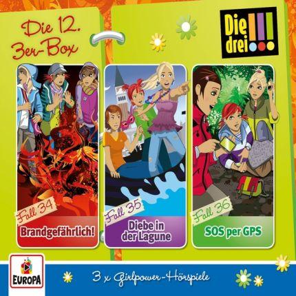 Die drei !!! - Die 12.3er-Box (Folgen 34-36)