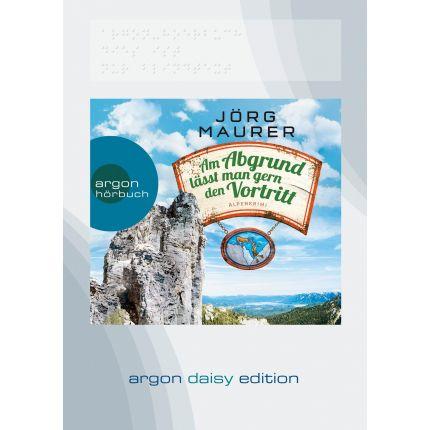 Am Abgrund lässt man gern den Vortritt (DAISY Edition)