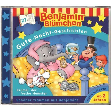 Benjamin Blümchen  - Gute-Nacht-Geschichten Folge 27: Krümel, der freche Hamster
