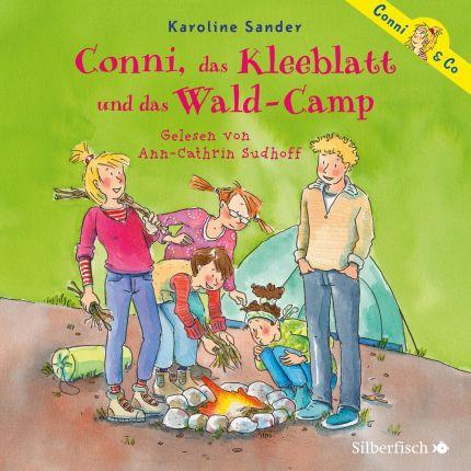 Conni, das Kleeblatt und das Wald-Camp (Conni & Co 14)