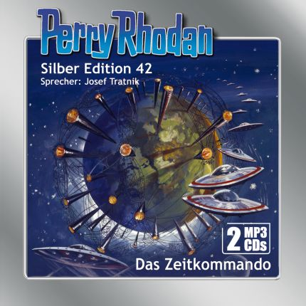 Perry Rhodan Silber Edition (MP3-CDs) 42: Das Zeitkommando