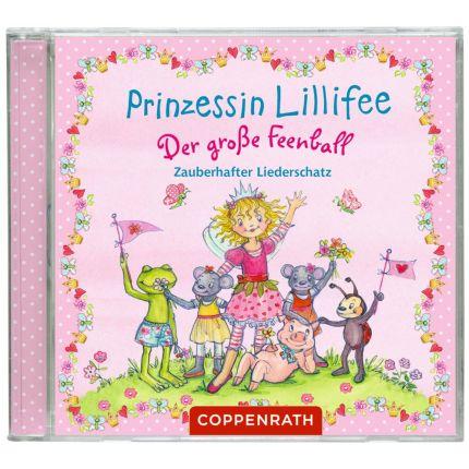 Prinzessin Lillifee - Der große Feenball. Zauberhafter Liederschatz