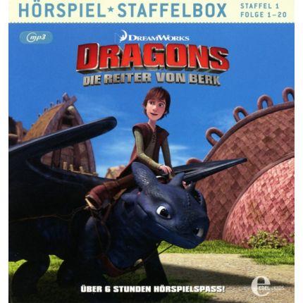 Dragons - Die Reiter von Berk (1)Staffelbox (MP3)