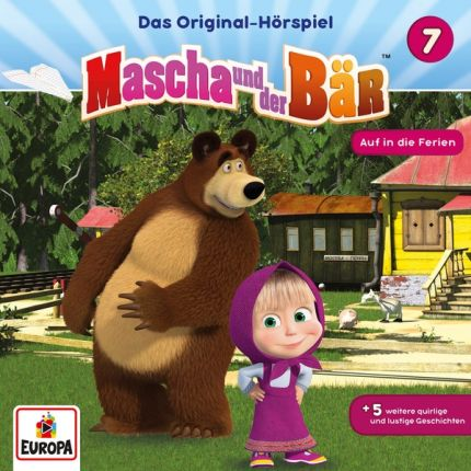 Mascha und der Bär 007/Auf in die Ferien
