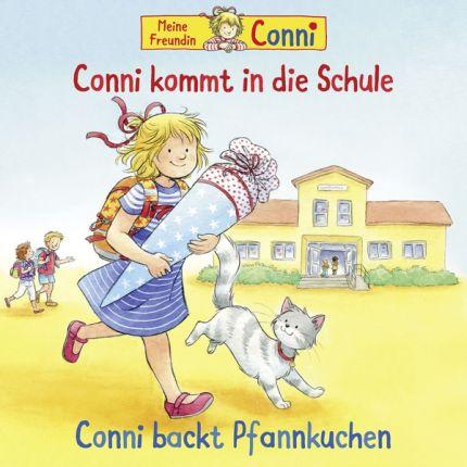Conni (56) kommt In die Schule / backt Pfannkuchen