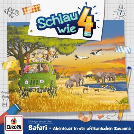 Schlau wie 4 - Folge 7/Safari. Abenteuer in der afrikanischen Savanne
