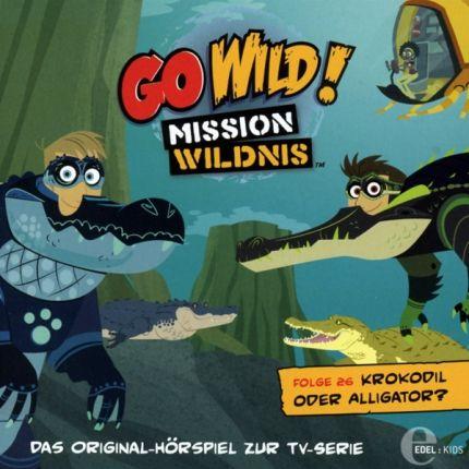 Go Wild! Mission Wildnis (26) Krokodil oder Alligator?