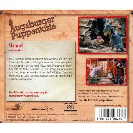 Augsburger Puppenkiste: Urmel aus dem Eis - Hörspiel