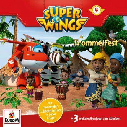 Super Wings 004/Trommelfest