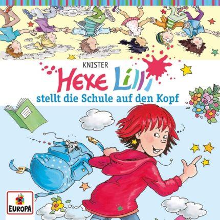 Hexe Lilli 001/stellt die Schule auf den Kopf