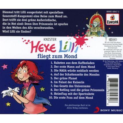 Hexe Lilli 015/fliegt zum Mond