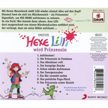 Hexe Lilli 019/wird Prinzessin