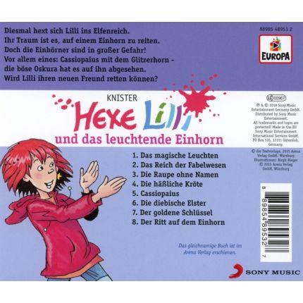 Hexe Lilli 020/und das leuchtende Einhorn