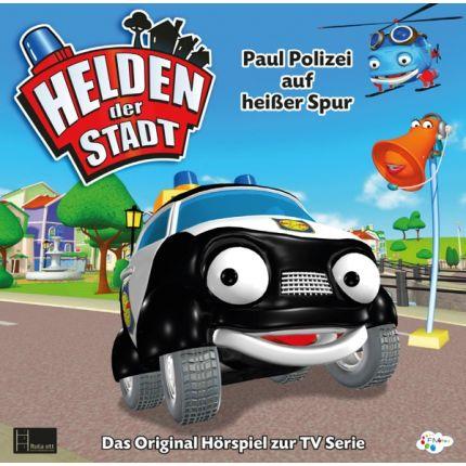 Helden der Stadt - Paulchen Polizei auf heißer Spur (CD Hörspiel)