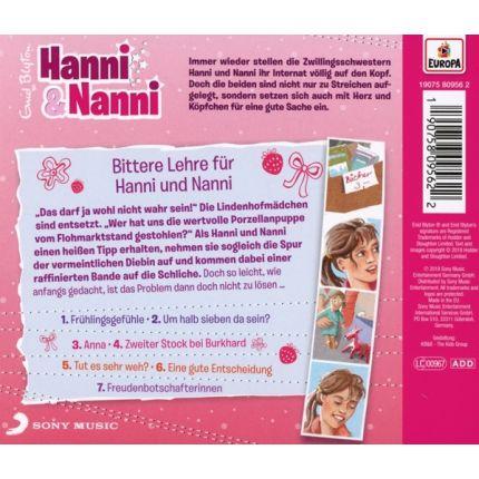 Hanni & Nanni 59/Bittere Lehre für Hanni und Nanni