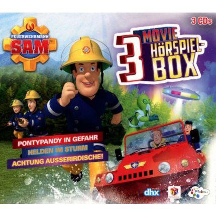 Feuerwehrmann Sam-Movie Hörspiel Box (3 CDs)