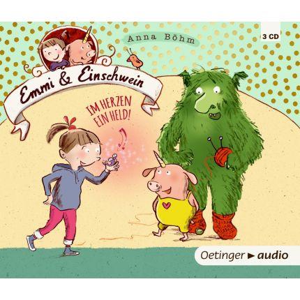 Emmi und Einschwein - Im Herzen ein Held (3CD)