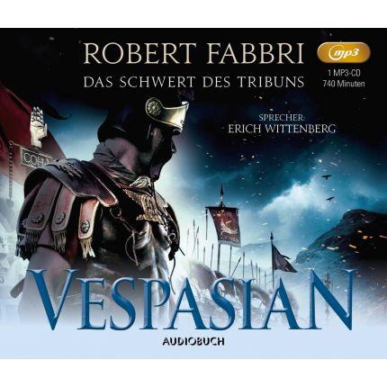 Vespasian (1) Das Schwert des Tribuns (1 MP3-CD)