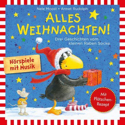 Der kleine Rabe Socke - Alles Weihnachten!: Alles verschenkt!, Alles gebacken!, Alles Advent!