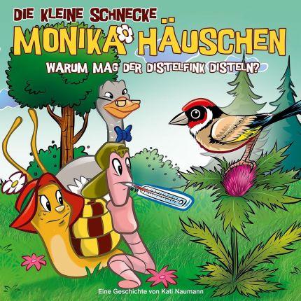 Die kleine Schnecke Monika Häuschen - CD / 51: Warum mögen Distelfinken Disteln?