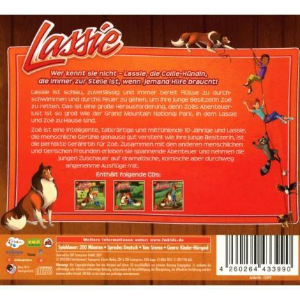 Lassie Hörspiel Box 2 (Folgen 10 - 18)