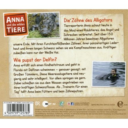 Anna und die wilden Tiere (2)Hörspiel zur TV-Serie - Die Zähne des Alligators