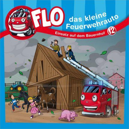Flo, das kleine Feuerwehrauto 12 - Einsatz auf dem Bauernhof