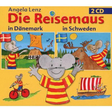 Die Reisemaus: In Dänemark und Schweden (2CD)