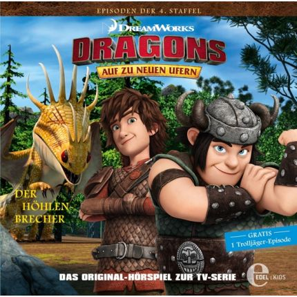 Dragons (33) Orig.hörspiel zurTV-Serie - Höhlenbrecher