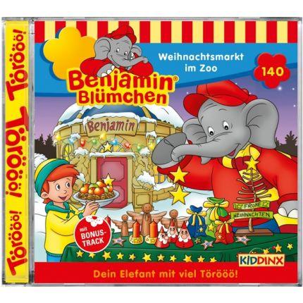 Benjamin Blümchen Folge 140: Weihnachtsmarkt im Zoo
