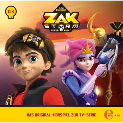 Zak Storm (3) Original Hörspiel z.TV-Serie-Das Eisdrachenbaby