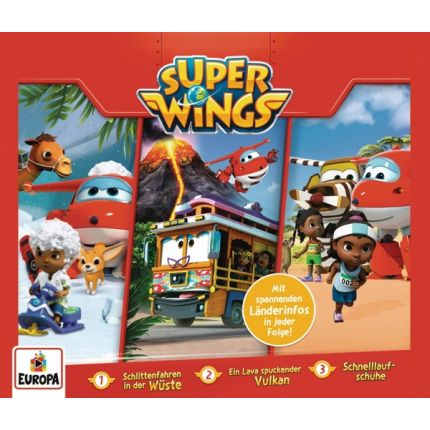 Super Wings 001/3er Box (Folgen 1,2,3)